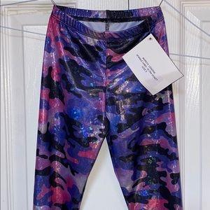 Sparkle camo leggings